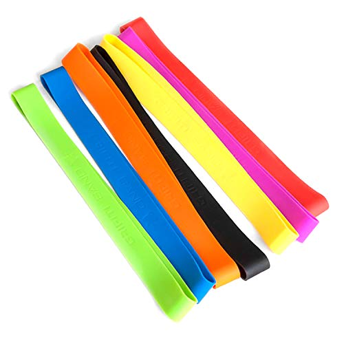 - Grifiti Band Joes 12 Inch 10 Assorted Pack Silicone Rubber Bands Heat Cold UV Chemical Resistant Books, Board Game Boxes, Puzzles, Art, Cooking, Wrapping, Exercise, Bag Wraps, Fidget Bands, Foot Bands