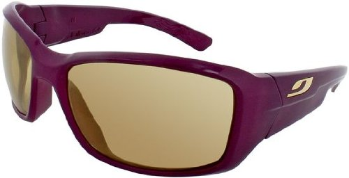Julbo Women's Whoops Performance Sunglasses, Zebra Lens, Plum, Small