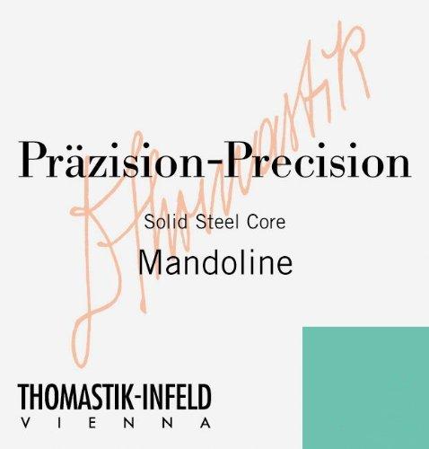 Thomastik Saite für Mandoline Band umsponnen. Mit Schlinge. Preis per Paar.<p><br>- Mensur 34 cm<p><br>- B002J27Y7E