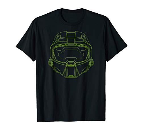 - Halo Infinite Master Chief Helmet T-Shirt