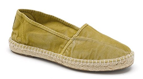 Vari Vegan Natural Tela Scarpe 604 625e ultimo Per Trendy World Donna Colori –disponibili Modello Eco Espadrillas In nBqBPpI