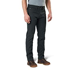 The defender-flex pant has been developed for 5.11 end users who are looking for low-vis tactical without sacrificing performance at the firing range or comfort for everyday wear, and is crafted with a cavalry twill cotton/polyester blend, wi...