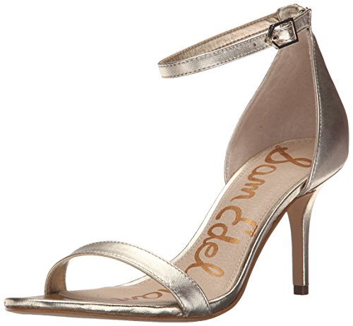 Sam Edelman Sandalias de vestir, Mujer Jute Metallic Leather