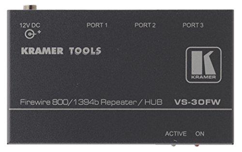 Kramer VS-30FW 3-Port FireWire 800 Repeater / Hub by Kramer