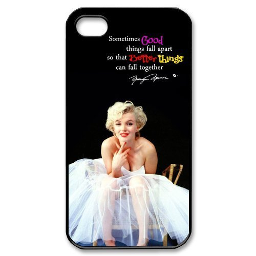 [Generic Sexy Goddess Marilyn Monroe Case Cover for iPhone 4 4S] (Easy Goddess Costume)