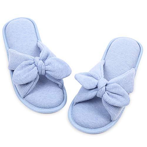 Caramella Bubble Open Toe Summer Spa House Slippers for Women Memory Foam Slip on