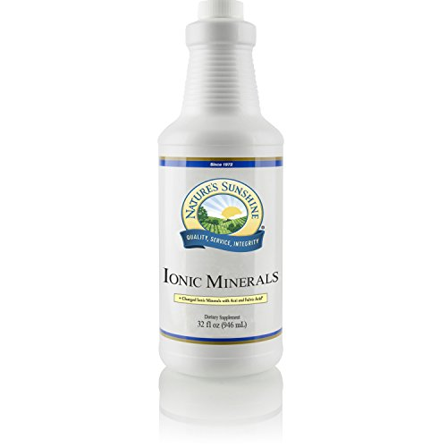 Nature's Sunshine Ionic Minerals w/Acai, 32 fl. oz. | Liquid Mineral Supplement Supplies the Body with Vital Minerals that Support the Immune and Circulatory Systems