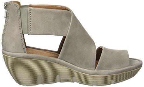 8fa6d8b75202 Clarks Women s Clarene Glamor Wedge Heel Sandals 4.5 D (M) UK  7 B(M) US  Sage Nubuck  Amazon.ca  Shoes   Handbags