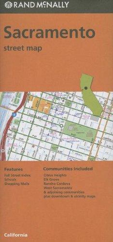 Sacramento Street Map (Rand Mcnally)