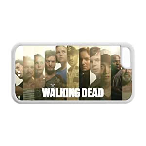 Custom Printed Hard Snap-On Back Case for iphone 5C(Cheap iphone 5)- TV & Movie Series The Walking Dead -1