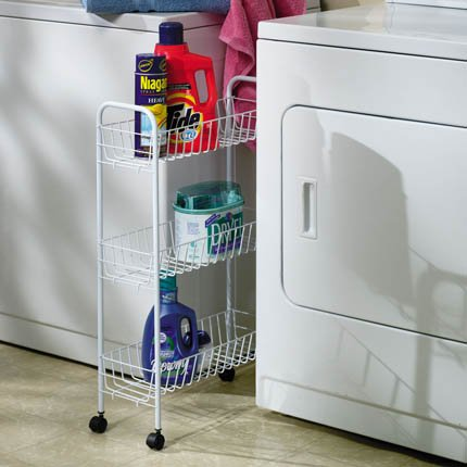 Whitney Design 3 Shelf Laundry Rack Set-Up Size: 30