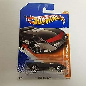 a28337c177d1 The Batman Batmobile 2011 Hot Wheels Track Stars 1 64 diecast car No ...