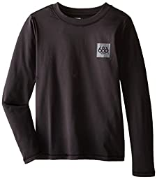 686 Boy\'s Thrill First Layer Shirt, X-Large, Black