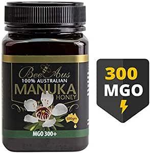 BeeAus Manuka Honey MGO 300+ 500g