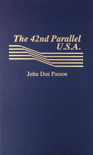 book cover of The 42nd Parallel