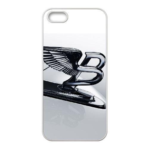 C8V68 Bentley E8W7QP coque iPhone 5 5s cellule de cas de téléphone couvercle coque blanche RX0YFD4HT
