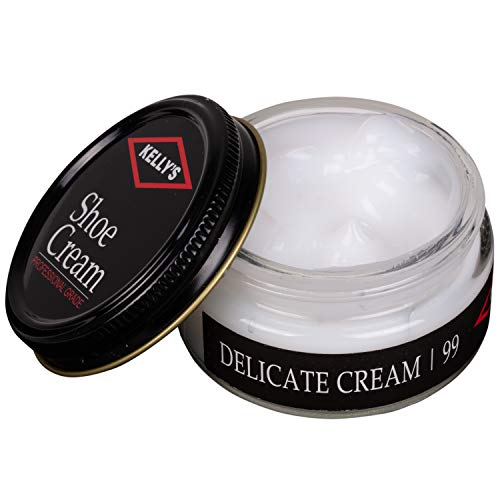 (Kelly's Shoe Cream - Professional Shoe Polish - 1.5 oz - Delicate Cream)