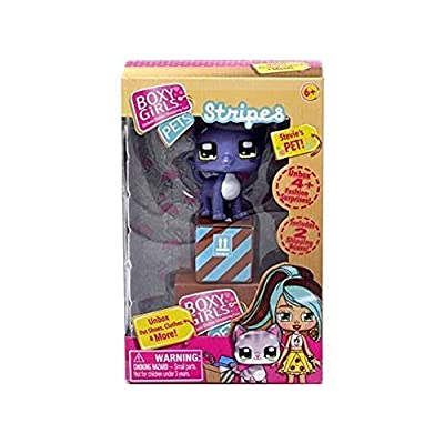 Boxy Girls Bundle Pets 6 Style Asst (Buttons, Violet, Yummies, Stripes, Lulu &Fluffy): Toys & Games