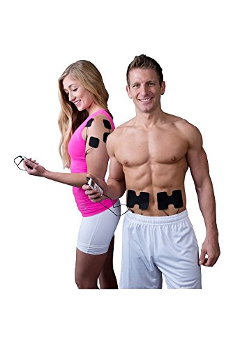iReliev TENS and EMS combination unit muscle stimulator review