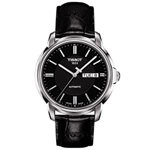 tissot men analogue watch black dial analogue tissot amazon tissot men analogue watch black dial analogue