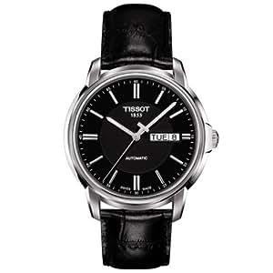 Tissot Men's T0654301605100 Analog Display Swiss Automatic Black Watch