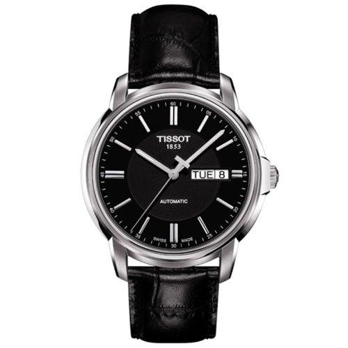 (Tissot Men's T0654301605100 Analog Display Swiss Automatic Black Watch)
