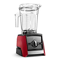 Vitamix A2500 Ascent Series Smart Blender, Professional-Grade, 64 oz. Low-Profile Container, Red (Certified Refurbished)