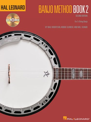 Hal Leonard Banjo Method - Book 2: For 5-String Banjo