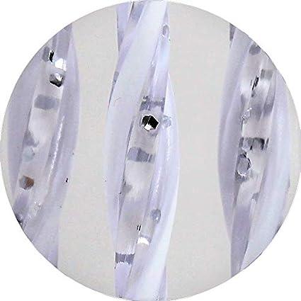 Misure Standard - Modello Capri cm 80x200h, 10 - Sabbia 90X200//95X200//100X220//120X230//130X240//150X250 Made in Italy Cirillo Tende Tenda//Moschiera PVC Asta in Alluminio