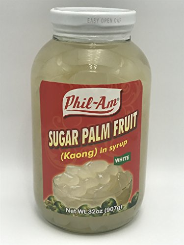 Sugar Palm Fruit in Syrup (Kaong White) (2 Pack)