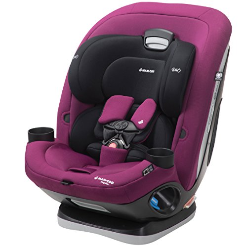 Maxi-Cosi Magellan All-In-One Convertible Car Seat With 5 Modes, Violet Caspia, One Size