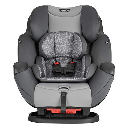 Evenflo Symphony Sport All-in-One Car Seat, Gray Ash