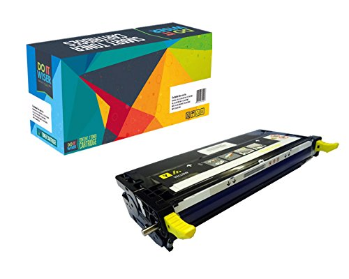 Do it Wiser Compatible Extra High Yield Toner Cartridge Replacement for Dell 3130 3130cn Yellow