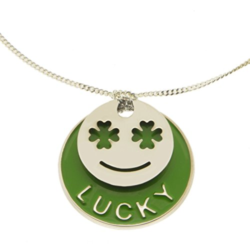 La Môme Bijou plaqué argent et laque Lucky Charm Bracelet de 15-16cm