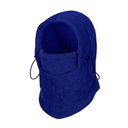 FakeFace Winter Warm Windproof Balaclava Outdoor Sports Full Face Mask Balaclava Blue