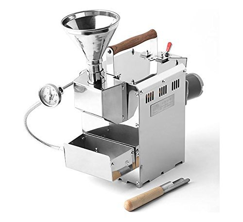 Burner Roaster - KALDI Home Coffee Roaster Motorize Type Full Package Including Thermometer, Hopper, Probe Rod, Chaff Holder (Gas Burner Required)