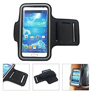 HP DF Sports Armband for Samsung S2/S3/S4 (Assorted Colors) , Black
