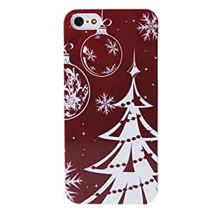 Silver Christmas Tree Back Case for iPhone 5/5S