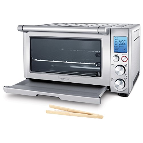 Breville Reinforced Stainless Steel Smart Oven with Bamboo Toast Tongs (Breville Toast Oven compare prices)
