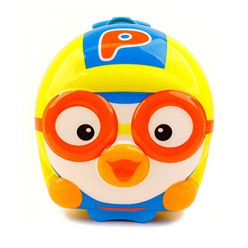 Pororo Little Kid Luggage 3D Trolley Carry-on Hand Luggage 15'' by Pororo