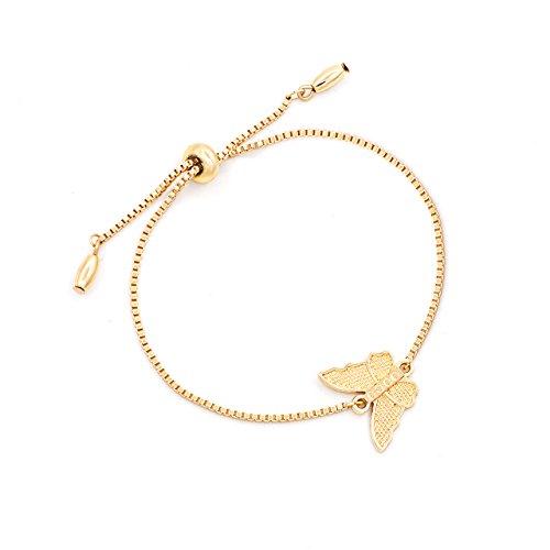 Cyberny Best Friend Bracelets Handcuff Cross Charm Bracelet for Women Gold Tone