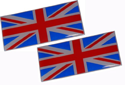 2-x-british-flag-royal-uk-english-england-mod-union-jack-aluminum-emblem-badge-nameplate-decal-rare-