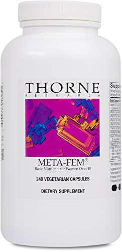Thorne Research - Meta-Fem - Complete Dietary Supplement for Women of Either Peri- or Postmenopausal Age -240 Capsules