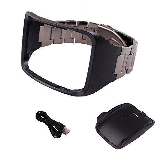 Wristband with Charger Dock For Samsung Galaxy Gear S by HOL