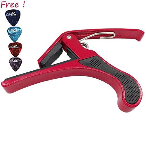 Red Acoustic Guitar Set - 8