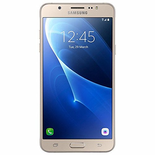 Samsung Galaxy J7 LTE (2016) J710M/DS 16GB - 5.5'' Dual SIM Factory Unlocked Phone (Gold) - International Version