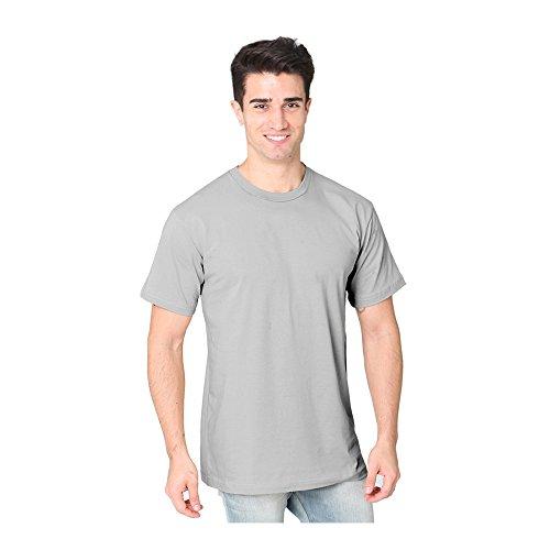 Royal Apparel Unisex Short Sleeve Fine Jersey Tee Platinum 3X