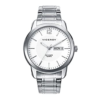 Watch Viceroy 46643-05 Steel Quartz White Man