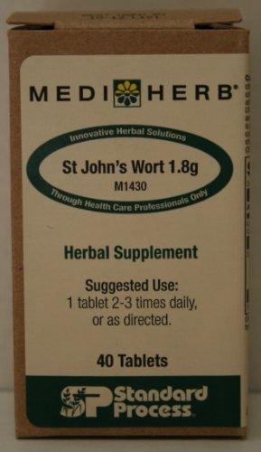 Wort 1,8 g 40 les comprimés de Mediherb St. John
