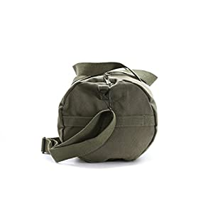 Jedi Order Logo Sport Heavyweight Canvas Duffel Bag in Olive & Black, Large